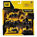 Mondo Motors - Caterpillar CAT Little Machines | 5 Pack - confezione da 5 Veicoli da costr...
