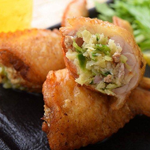 レンジでチンですぐに食べれる! 揚げずに美味しい 焼き手羽先餃子 手羽餃子 (5本入り) 鍋にもオススメ