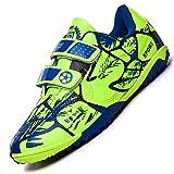 Unitysow Botas de Fútbol Niños Aire libre deporte Cesped Artificial Zapatillas de Futbol Adolescentes Training Zapatos...