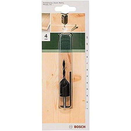 Bosch 2609255217 Foret à bois avec fraise conique 90° Diamètre 4 mm