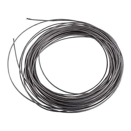 15 Metri Diametro 1.5mm 304 Cavo In Acciaio Inox Cavo Metallico Corda Ringhiera Decking Vestiti Linee All'aperto