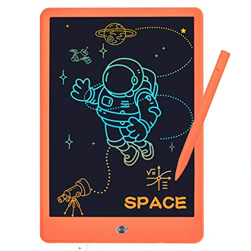 10inch LCD Writing Tablet for Kids, Colorful Toddler LCD Writing Drawing Tablet Board, Reusable Drawing Doodle Pad Best Learning Toys for 3+ Years Old Boys Girls Men&Women