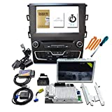 8' Capacitive Touchscreen w/SYNC 3 Upgrade Radio Kit Fits for Ford Fusion 2013-2019, Support Carplay Android Auto, MyFord Touch, USB Hub, IV APIM Module, NA1 19 GPS Navigation, JL3T-14G370-HKB