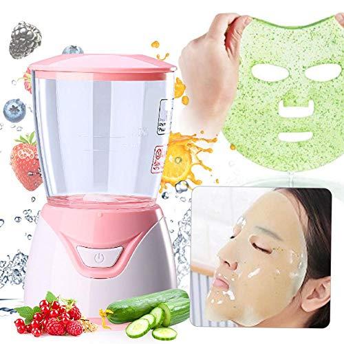 Gesichtsmasken Selber Machen - Super Mini Face Mask Maker Startseite DIY Obst Gesichtsmaske Maschine mit 32 Kollagenpillen