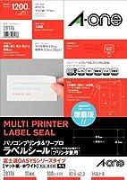 エーワン パソコン&ワープロラベル 富士通OASYSシリーズタイプ 12面 100シート 28176