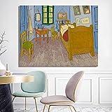 GEGEBIANHAOKAN Carteles E Impresiones En Lienzo Arte De La Pared Pintura En Lienzo Dormitorio De Vin...