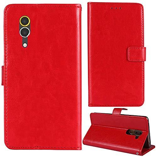 Lankashi Premium Retro Business Flip Book Stand Brieftasche Leder Tasche Schütz Hülle Handy Handy Hülle Für Caterpillar CAT S60 4.7
