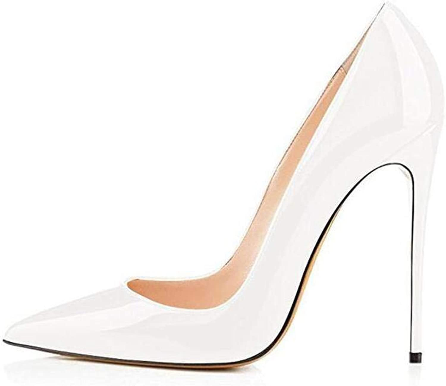 High Heels shoes Women Pumps 12cm Woman shoes Sexy Pointed Toe Wedding Party shoes Stilettos