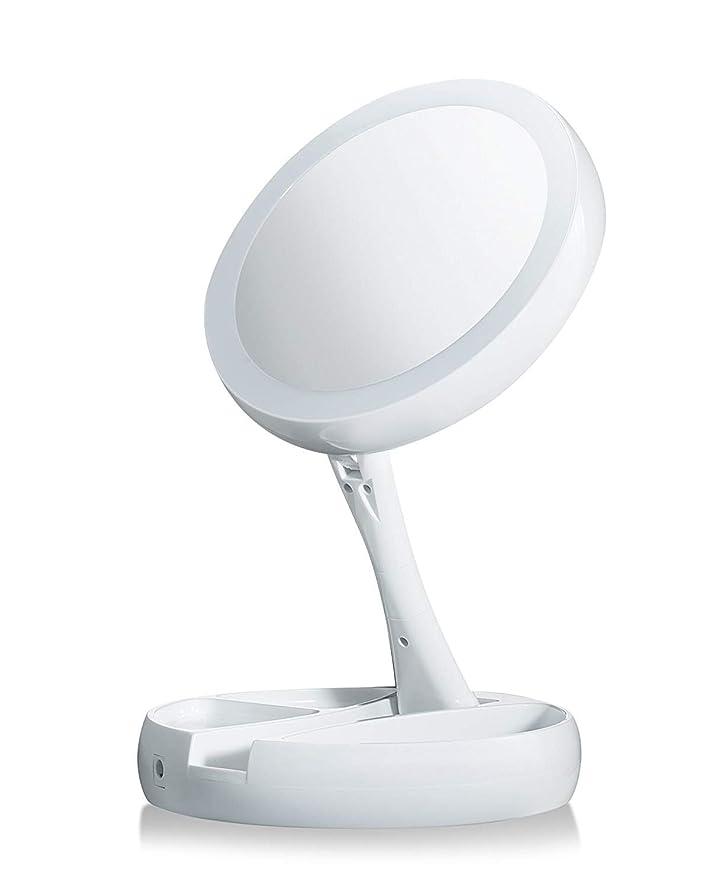 トレイインタラクションボス愛雅堂 テレビで見られるように歪んで、LED照明されて、2面鏡を離れて私の折り目を折ってください