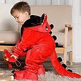 Czc-dp Cartoon Kostüme Kinder S Pyjamas Cartoon New Jumpsuit Flanell Dinosaurier Tierspielanzug...