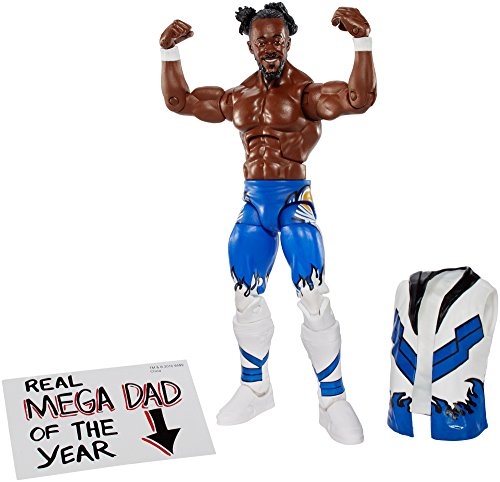 WWE Elite Kofi Kingston Figure
