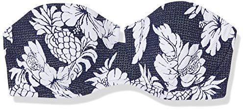 Seafolly Strapless Bustier Bikini Top, Blau (Royal Horizon), 42 Donna