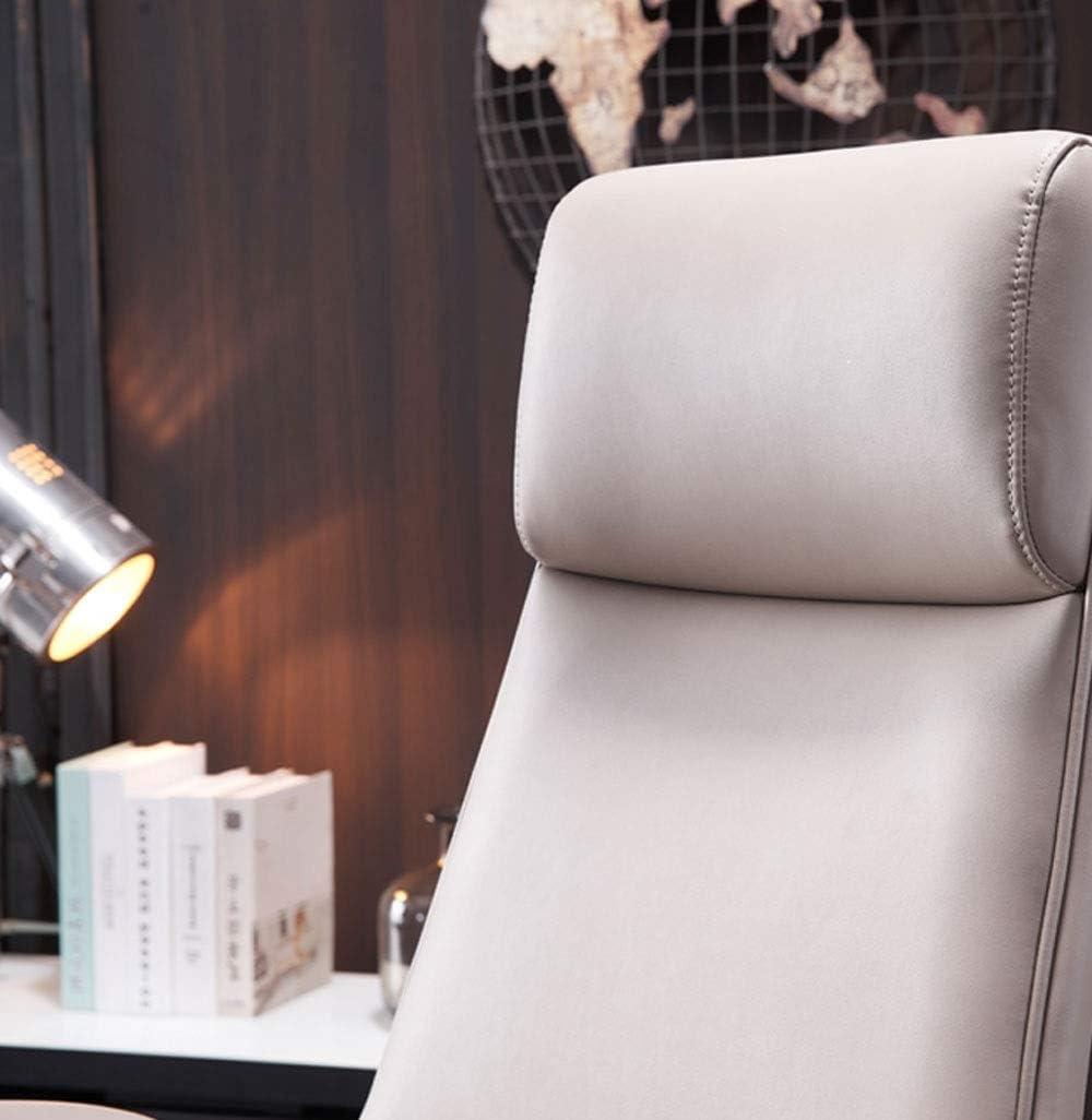 WERCHW Chaise de Bureau Moderne, président Intérieur Faux Cuir Chaise Vanity for Chambre Salon réglable pivotante Chaise de Travail Chaise Ordinateur Personnel Bureau Président D
