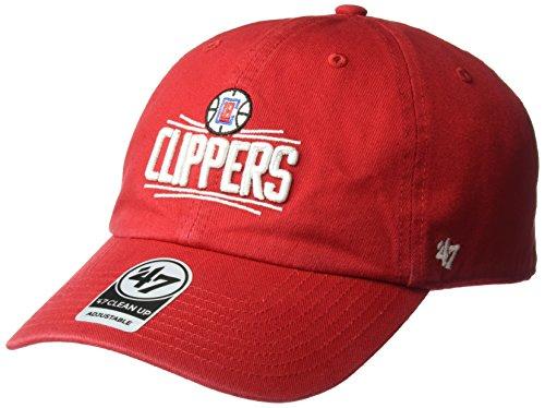 NBA '47limpiar sombrero ajustable, Un tamaño - NBA Clean Up, Rojo
