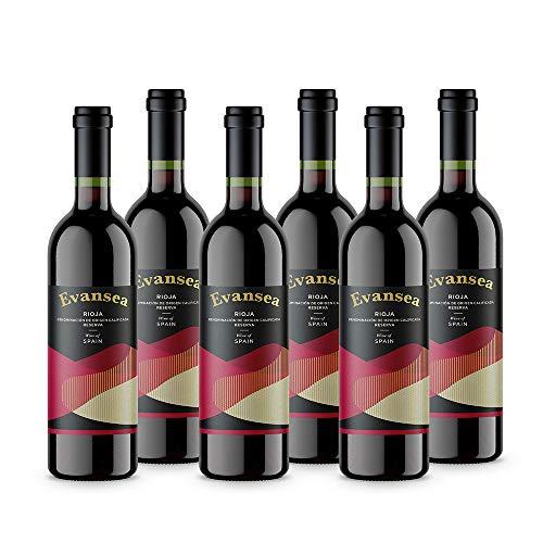 Evansea Rotwein Rioja Reserva, Spanien (6x0,75L)