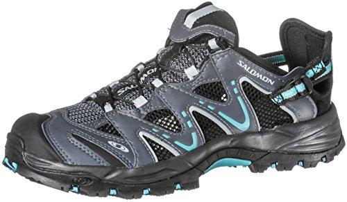 Salomon Salomon Riverside 37 1/3 Damen Trekking Schuhe Sandalen grey azure