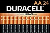 Duracell - CopperTop AA Alkaline Batteries - Long Lasting, All-Purpose Double A Battery for Household and Business - 72 Pack