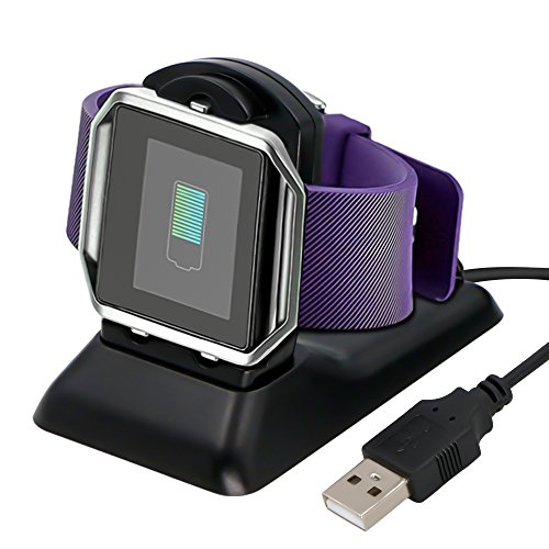 Fitbit Blaze Charger,Fitbit Blaze Charger Charging Stand Accessories,Adtechca Fitbit Blaze Charging Cradle Dock Adapter Holder Desktop Station for Fitbit Blaze Smart Fitness Watch (#001)