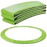 Arebos Trampolin Randabdeckung Federschutz | 183, 244, 305, 366, 396, 457 oder 487 cm | aus PVC und PE | Reißfest | 100% UV-beständig | Hellgrün (hellgrün, 396 cm)