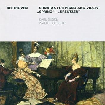BEETHOVEN, L. Van: Violin Sonatas Nos. 5 and 9 (Suske, Olbertz)