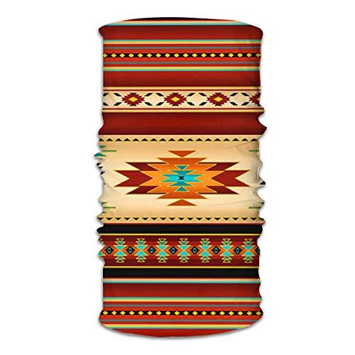 Navajo Unisex Multifunktionale nahtlose Maske, Bandanas, Tube, Schal, Gesichtsmaske, magisches Stirnband, Sturmhaube mit UV-Beständigkeit, Kopftuch, Reiten