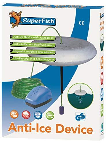 SuperFish 669745/1456 Eisfreihalter mit Belüftungsset
