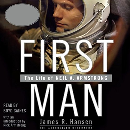 First Man audiobook cover art