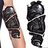 Realistic Robot Cyborg Bionic arm Temporary Tattoos Steampunk Halloween Fake Temporary Tattoo Transfer Paper Body Art Sticker (Cyborg Arm)