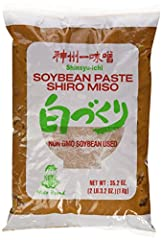 Soybean Paste Shiro Miso NET WT 2 LB. 3.2 Oz Non GMO Soybean Used No MSG ADDED Miko Brand Product of Japan