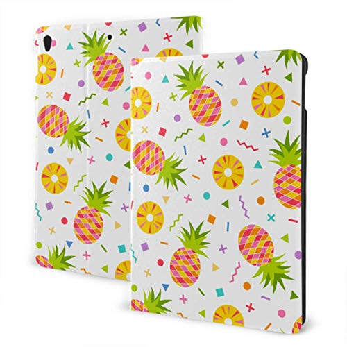 Cute iPad Cover 2019 iPad Air3/2017 iPad Pro 10.5 Inch Case/2019 iPad 7th 10.2 Inch Case Orange Tasty Fresh Pineapple Kidproof iPad Case Auto Wake/sleep