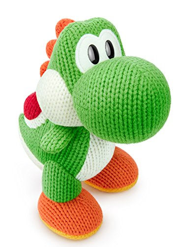Green Yarn Big Yoshi Amiibo - Wii U (yoshi Woolly World) [Japan Import] by Nintendo