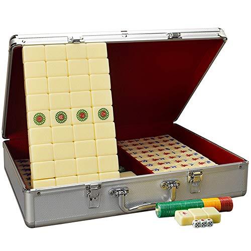 Big Shark Mahjong Mahong Game Set draagtas met doos, geschikt voor vrienden en entertainment