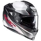 Casco de moto HJC RPHA 70 GADIVO MC10SF, Negro/Blanco/Rojo, S