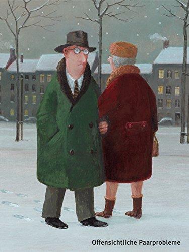 Postkarte A6 • 26041 ''Offensichtliche Paarprobleme'' von Inkognito • Künstler: Gerhard Glück • Satire