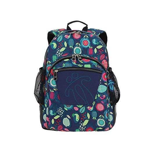 TOTTO Mochila Escolar, Grande Infantil, Incluye Neceser Mochilas Kinder-Rucksack, 44 cm, 20 liters, Mehrfarbig (Multicolor)