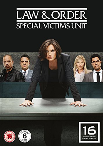 Law And Order- Special Victims Unit - Season 16 (6 Dvd) [Edizione: Regno Unito] [Edizione: Regno Unito]