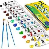 Colori Acrilici per Dipingere, Gifort 12 Pezzi x 12 ml Set di Colori Acrilici Pittura per Bambini, Principianti e Professionisti, Colori Brillanti e Durata per Tela Sassi Legno Modellismo