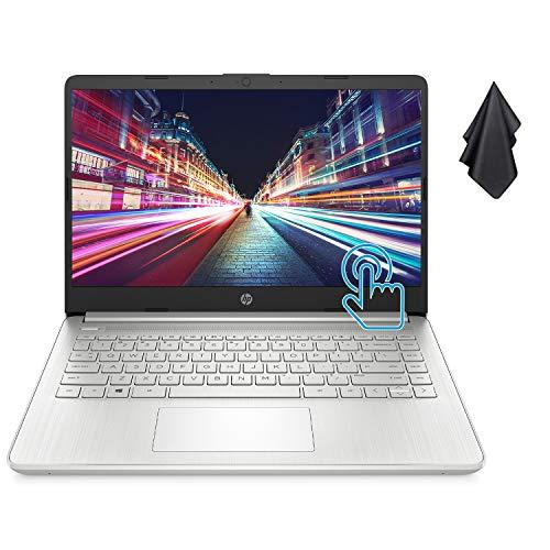 "HP Pavilion Laptop (2021 Newest), 14"" HD LED Touchscreen, AMD Ryzen 3 3250U Processor (Up to 3.5 GHz, Beats i7-7600U), 16GB RAM, 1TB SSD, Long Battery Life, Windows 10 Home + Oydisen Cloth"