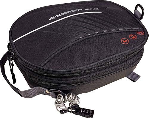 Bagster Tanktasche für Motorrad, D-Line Locker, Schwarz, XSS080, Einheitsgröße