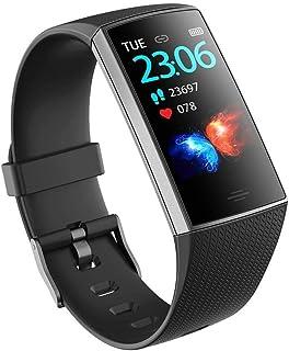 Reloj de Seguimiento de Actividad de Contador de calorías Smart Band de 0,96 Pulgadas Contador de calorías (Color: Azul)