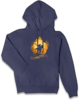 VJJ AIDEAR Epona's Song The Legend of Zelda Famale Women's Sweater Long Sleeve Hoodie with Pocket Black