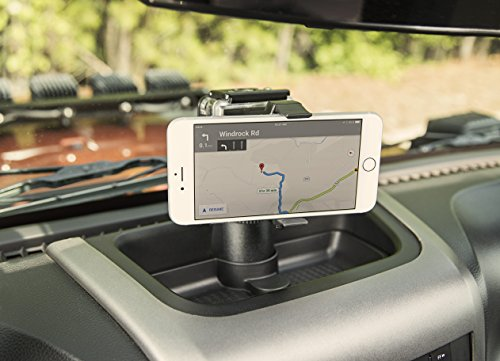 Rugged Ridge 1355116 Dash Multi-Mount with Phone Kit