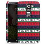 DeinDesign LG G2 Mini Coque Étui Housse Paris Saint-Germain Produit sous Licence Officielle Noel