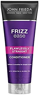 John Frieda Frizz Ease Flawlessly Straight Conditioner with Keratin for Frizzy Hair, 250 ml