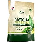 Matcha Green Tea Powder | Premium Grade 250g Double Size Pouch | Matcha Tea Ultra Fine Easy to Mix Matcha Powder | Perfect for Smoothies, Drinks & Baking | Vegan & Vegetarian | 100 Servings