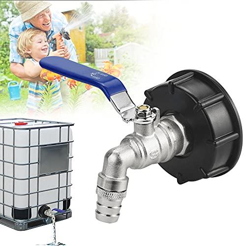 ZACUDA IBC Adapter IBC Tank IBC-Regenwassertanks Matt IBC 3/4