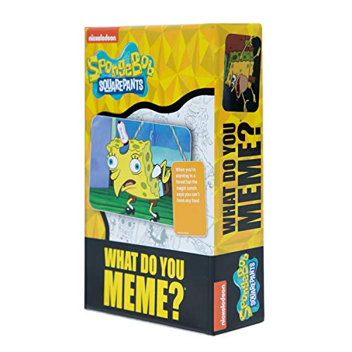Spongebob Squarepants Deck by What Do You Meme? - Designed to be Added to What Do You Meme? Core Game