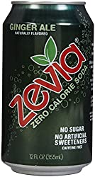 Zevia All Natural Diet Soda - Ginger Ale - 12 oz - 6 pk