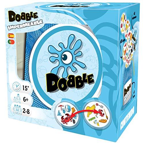 Asmodee - Dobble Waterproof, Juego de cartas impermeable (ADE0ASDO007) ⭐