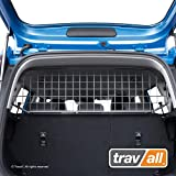 Travall Guard Compatible with KIA Soul (2013-2019) TDG1604 - Rattle-Free Steel Vehicle Specific Pet Barrier